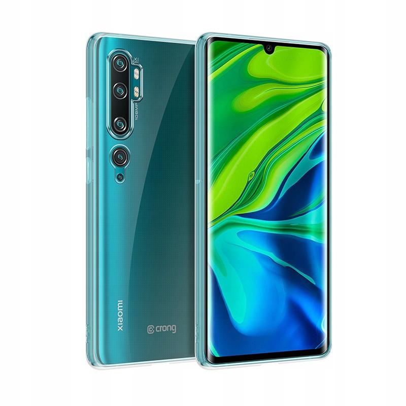 Crong Crystal Slim Cover - Etui Xiaomi Mi Note 10
