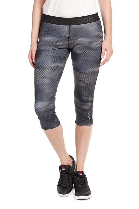 REEBOK spodnie damskie GETRY 3/4 AY2120 S szare