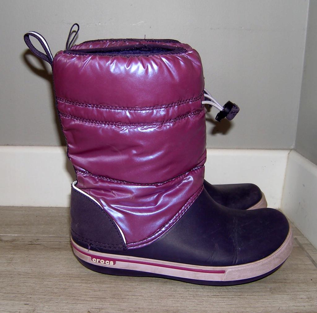 CROCS buty śniegowce r.J3 34-35