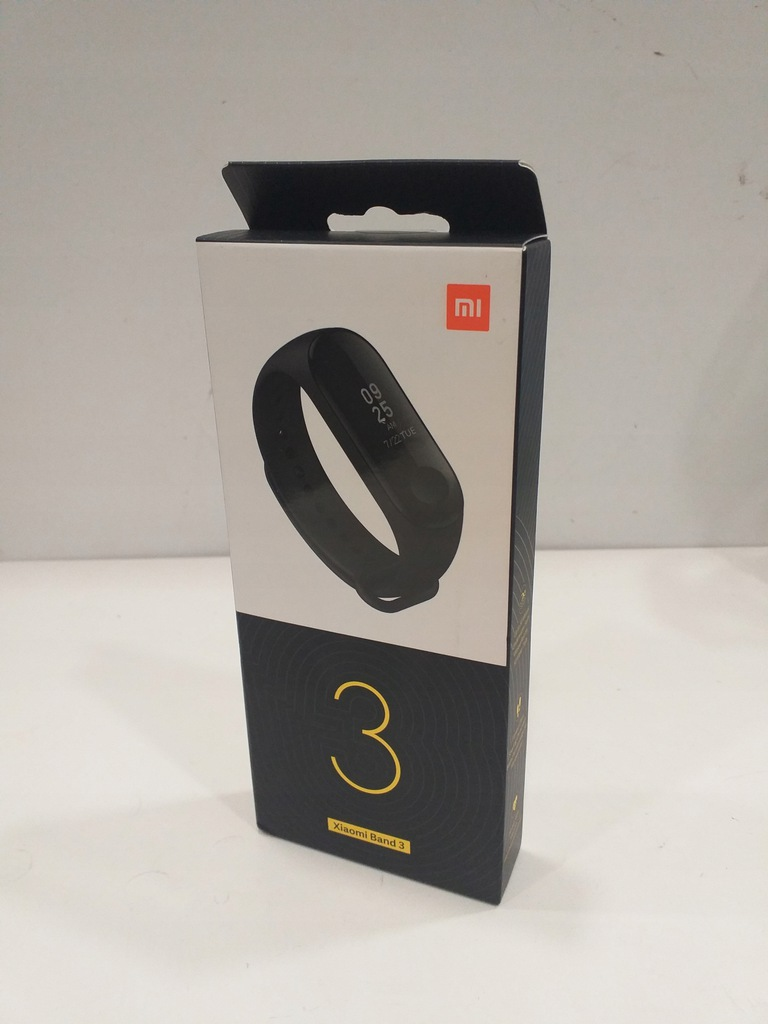 SMARTWATCH XIAOMI BAND 3 NOWY , 313//20