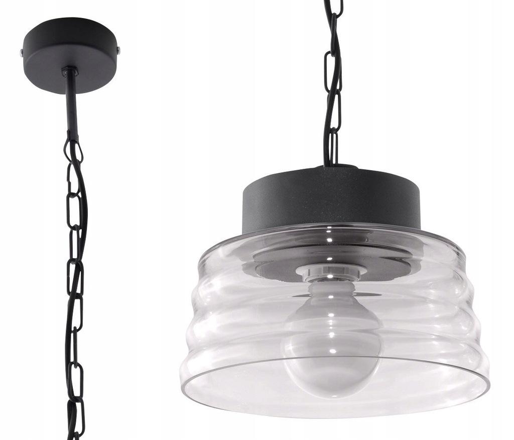 Lampy Wisząca MARINA Grafit lampa domowa nowoczes