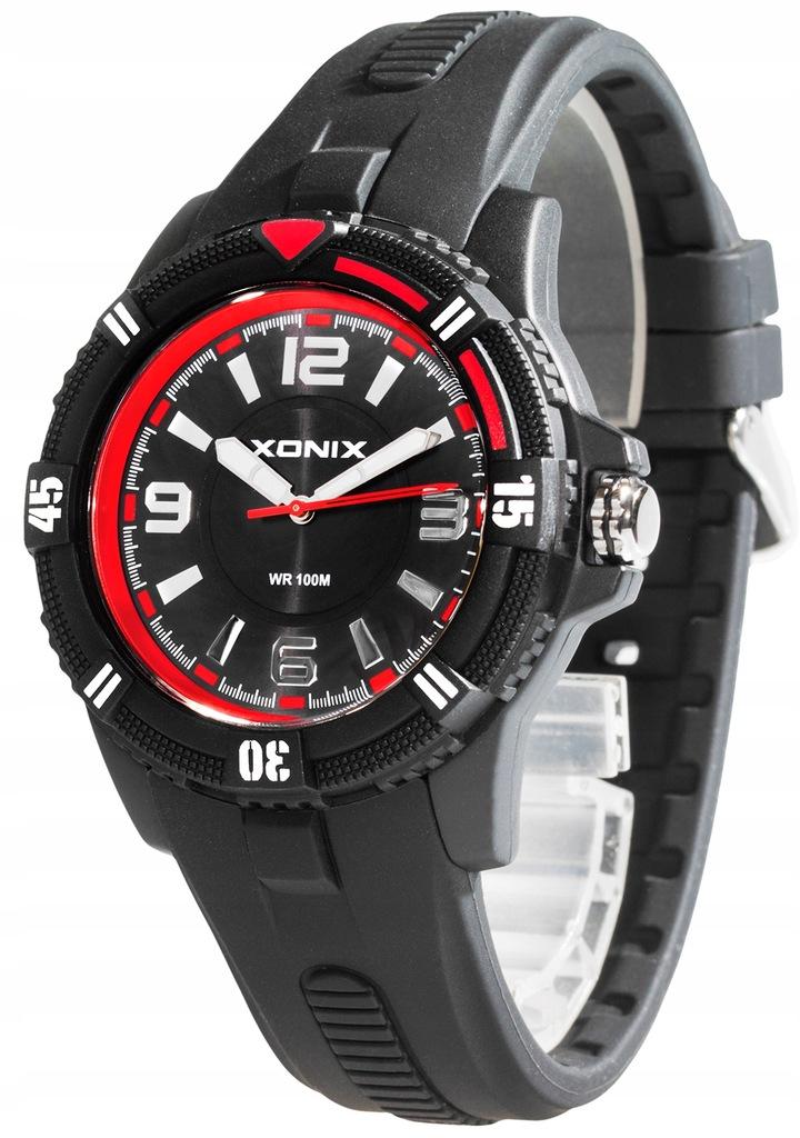 Zegarek XONIX 10ATM Dla Chłopaka ANALOGOWY DUŻY