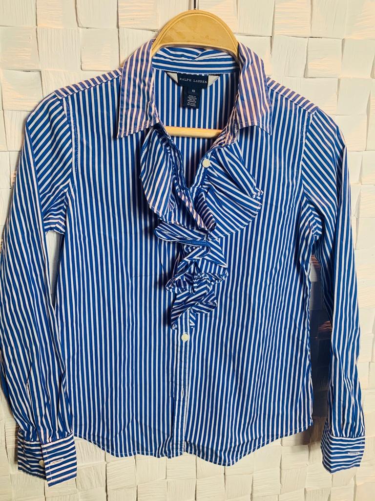 Ralph Lauren 10 koszula Bluzka 140-146 j.nowa