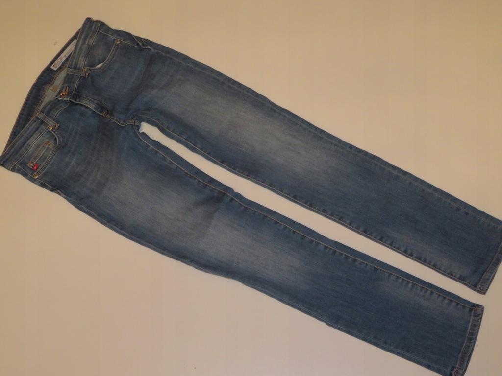 Spodnie 29 / 32 damskie jeansowe Big Star H44