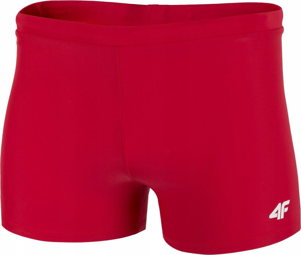 Kąpielówki bokserki szorty 4F MAJM002 czerwone L