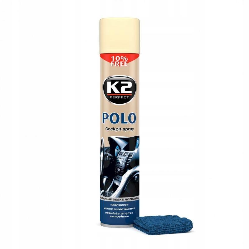 K2 POLO COCKPIT PLAK DO KOKPITU WANILIA 750ML