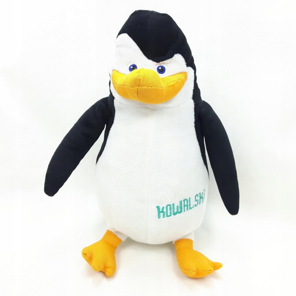 Pingwiny Z Madagaskaru Kowalski Maskotka 32 Cm 7963244248 Oficjalne Archiwum Allegro