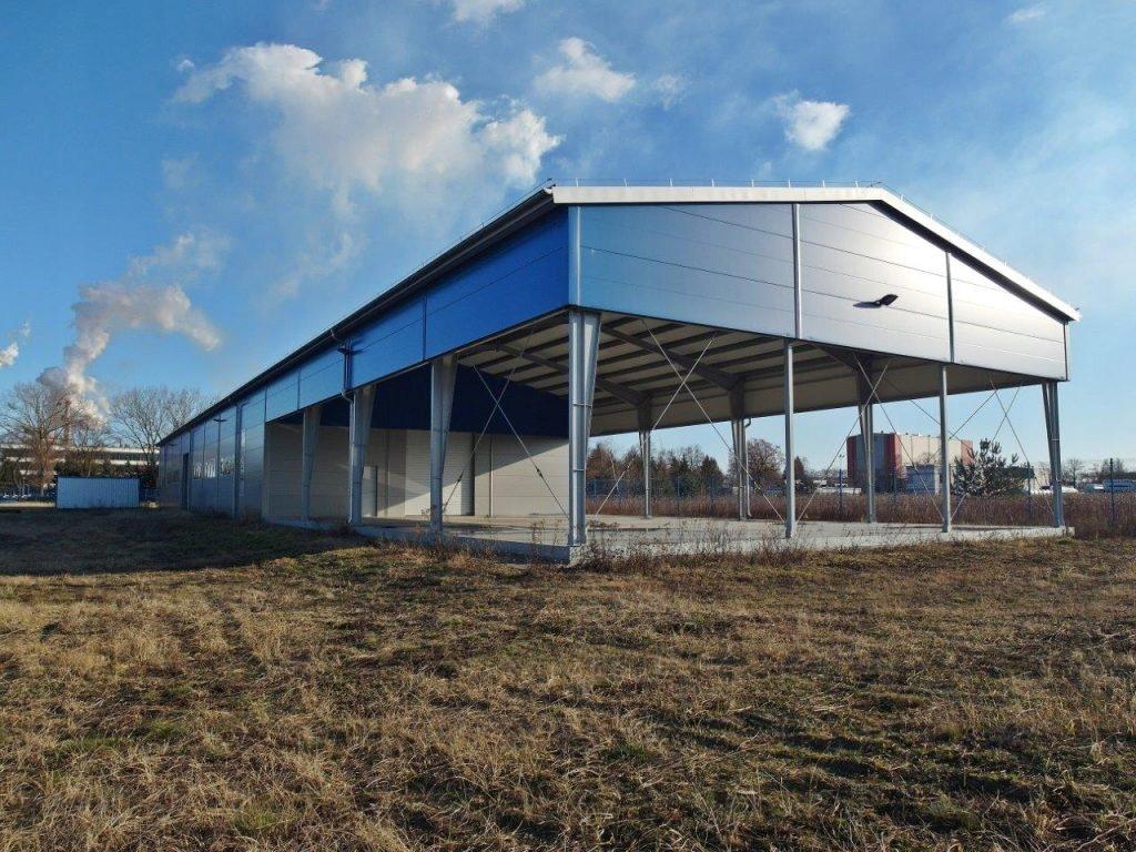 Hala magazynowa - Płock, 1063,00 m²