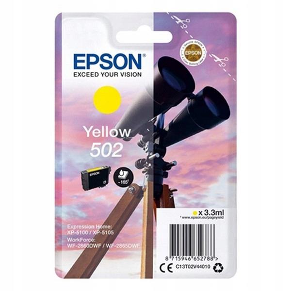 Oryginalny Wkład Atramentowy Epson C13T02V