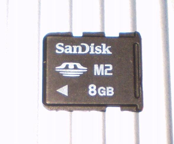 Karta pamięci SanDisk MEMORY STICK MICRO M2 8Gb