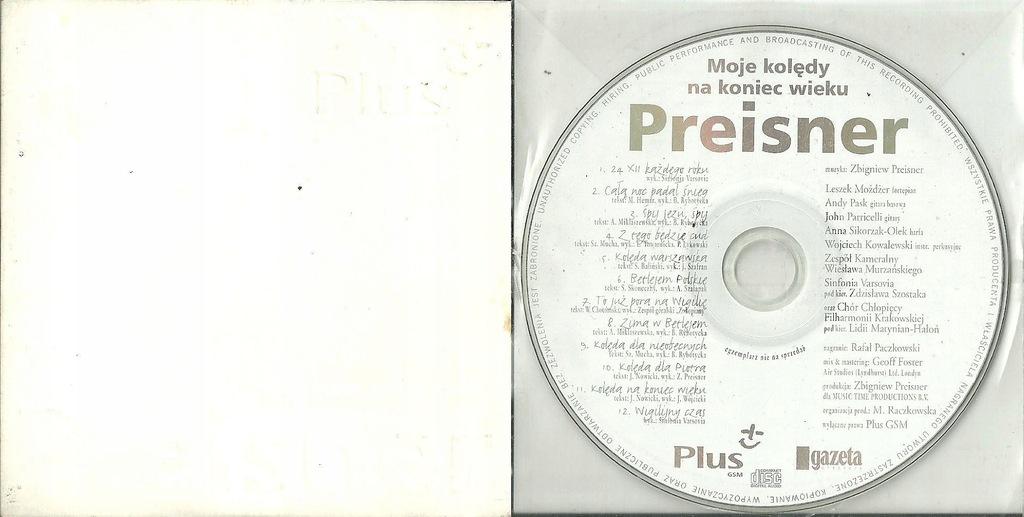 Moje kolędy na koniec wieku - Preisner CD