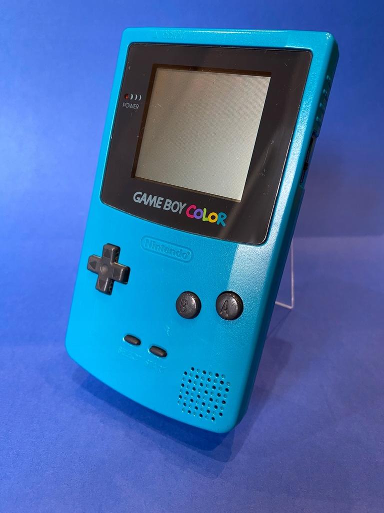 Nintendo Game Boy Color TURKUSOWY