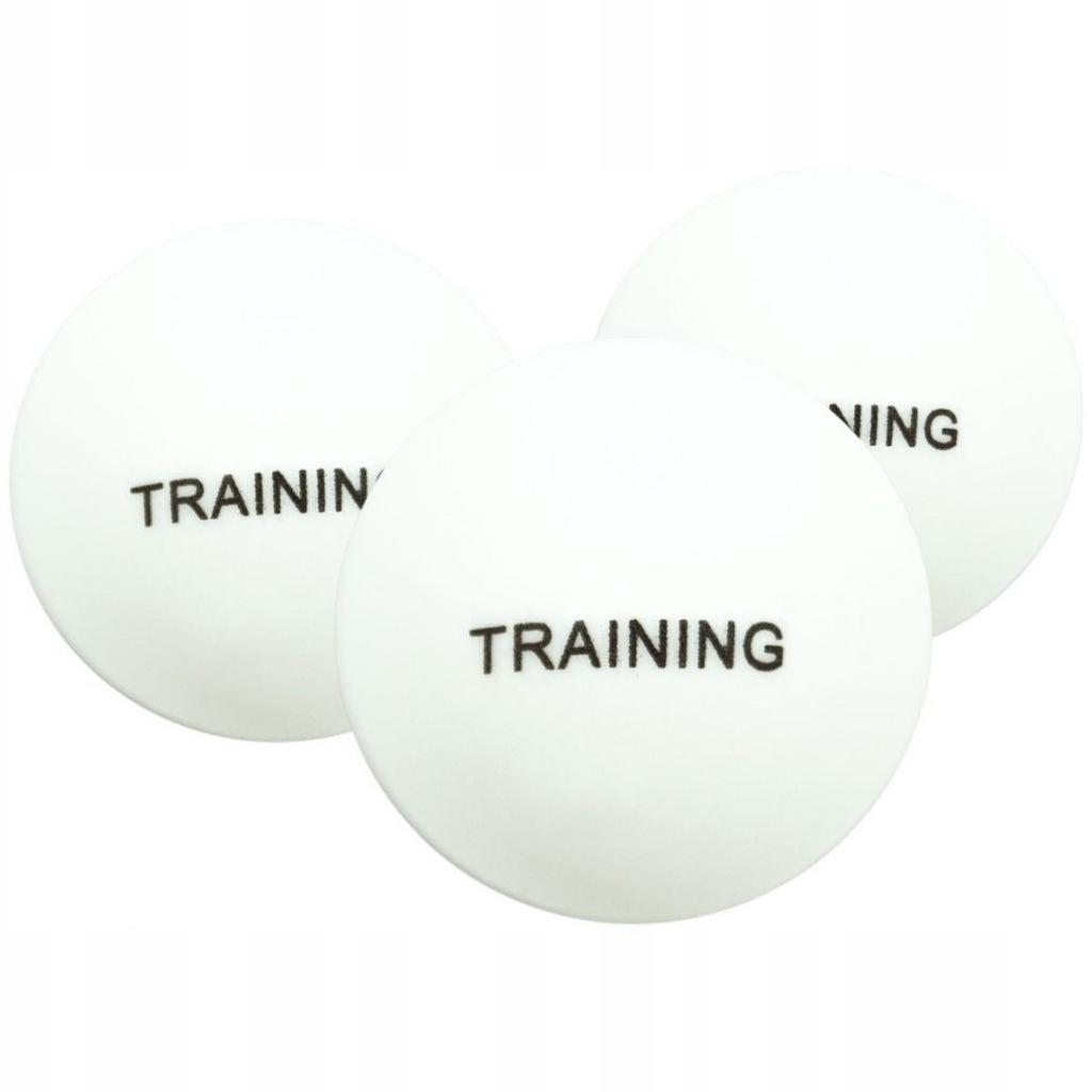 Piłeczki do tenisa stołowego białe treningowe 100s
