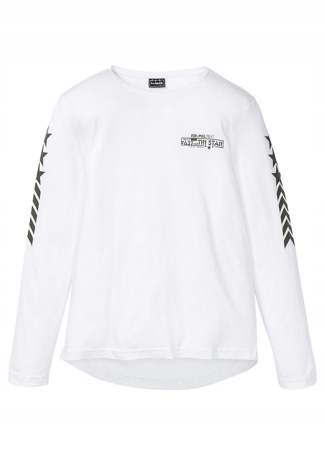 Shirt z długim rękawem biały 68/70 (4XL) 950213