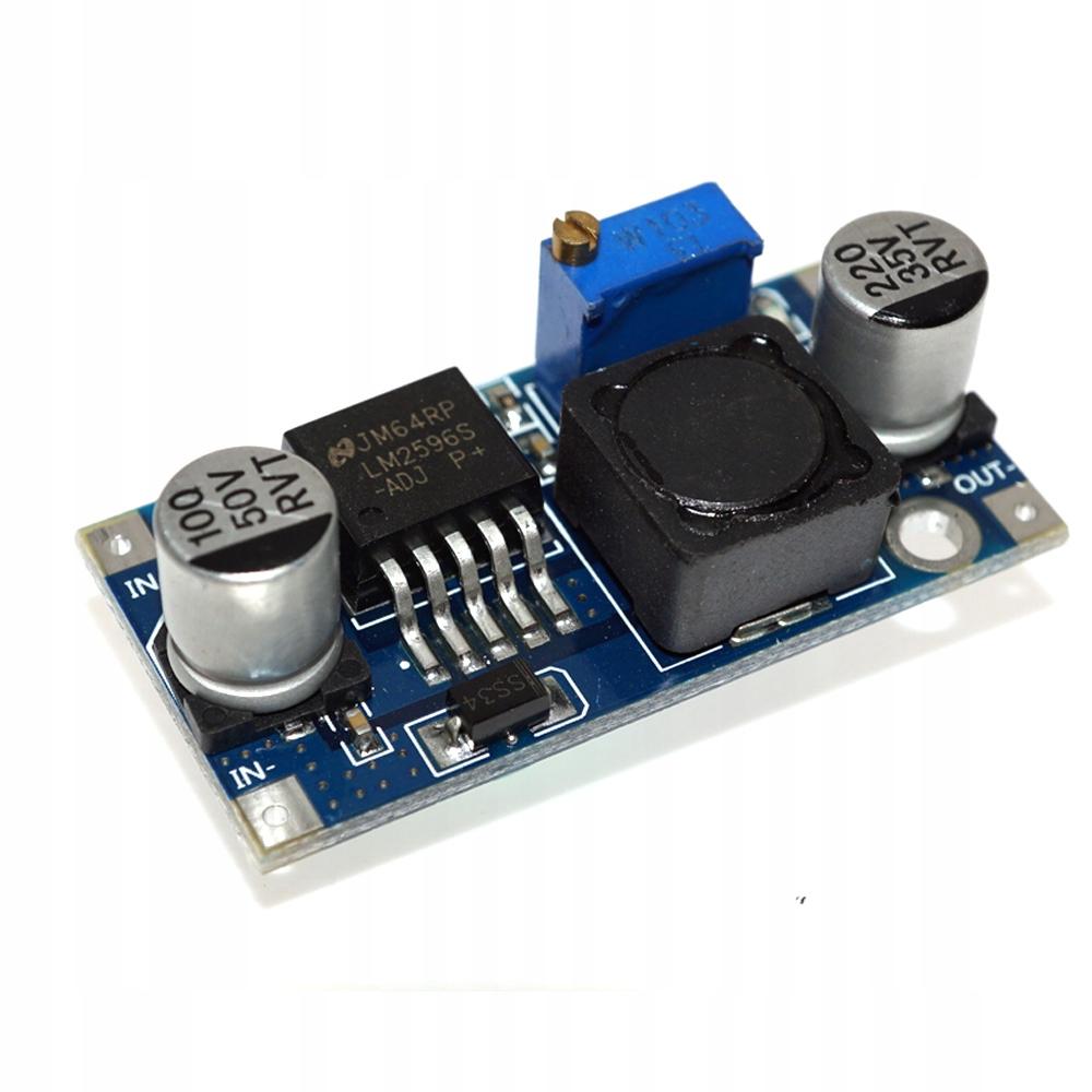 Przetwornica Step-Down LM2596 1,25-35V Arduino