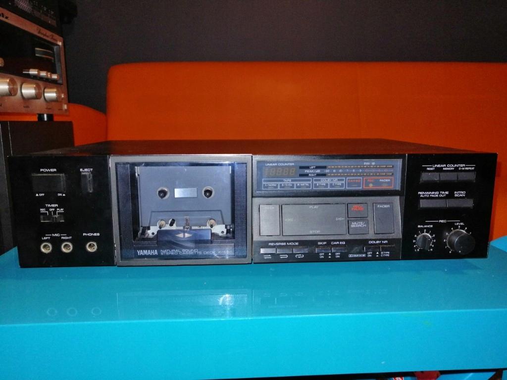 magnetofon kasetowy Yamaha K600