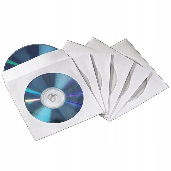 Hama koperty na CD / DVD opakowanie 50 sztuk