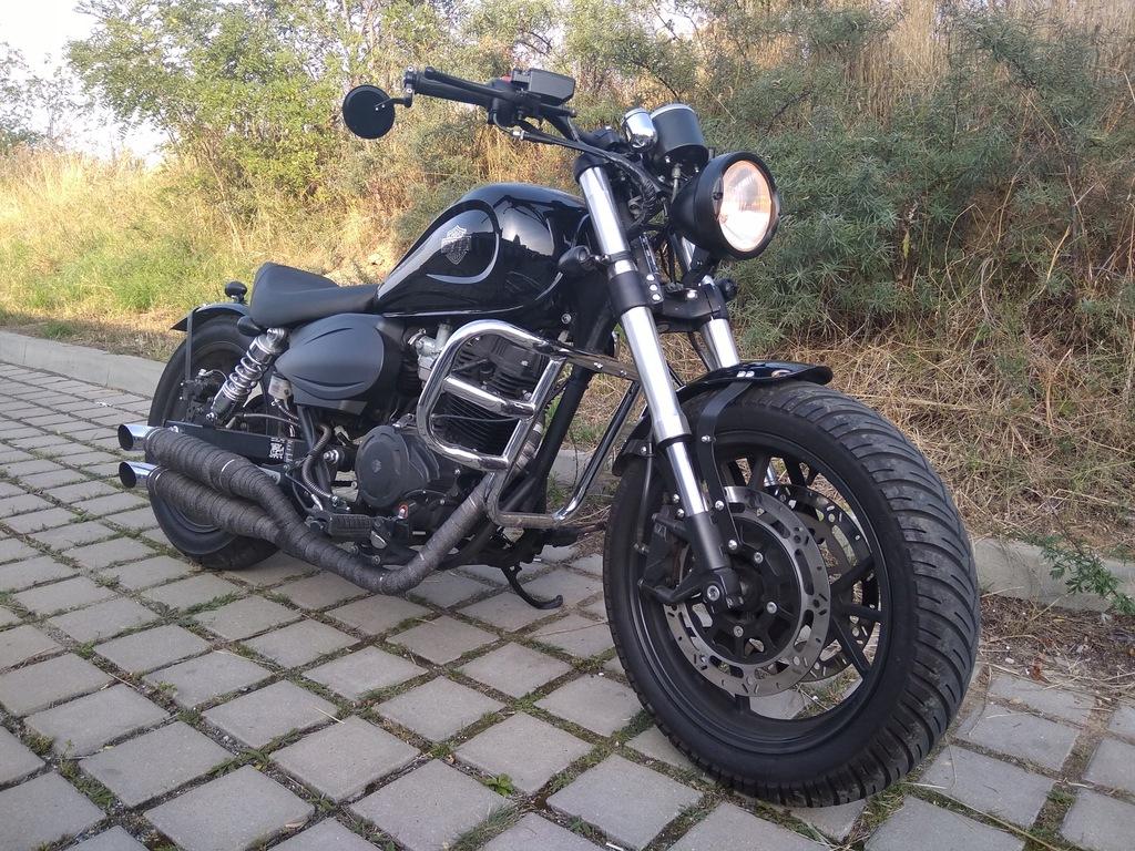 Romet Rcr 250 125 Custom Kat B Prawie Harley 8433663699 Oficjalne Archiwum Allegro