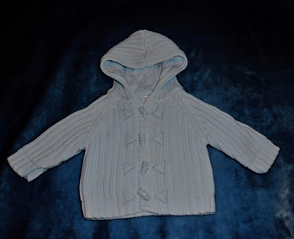 Next sweterek chłopiec roz 62-68 cm