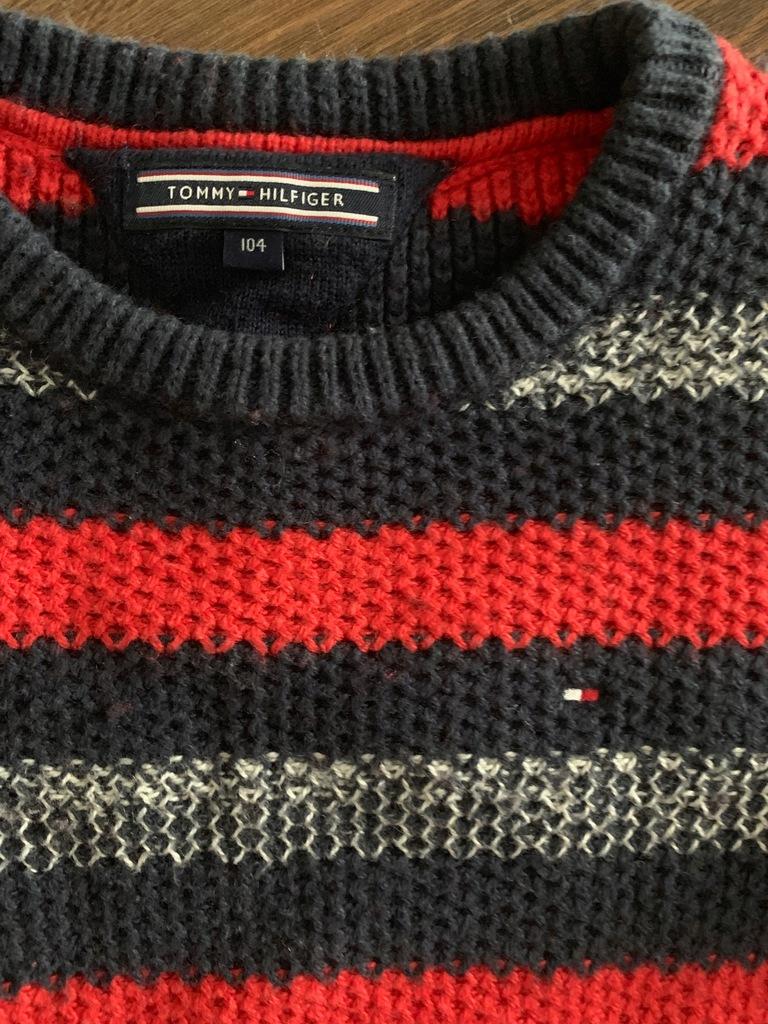 Sweter Tommy Hilfiger 104 oryginał