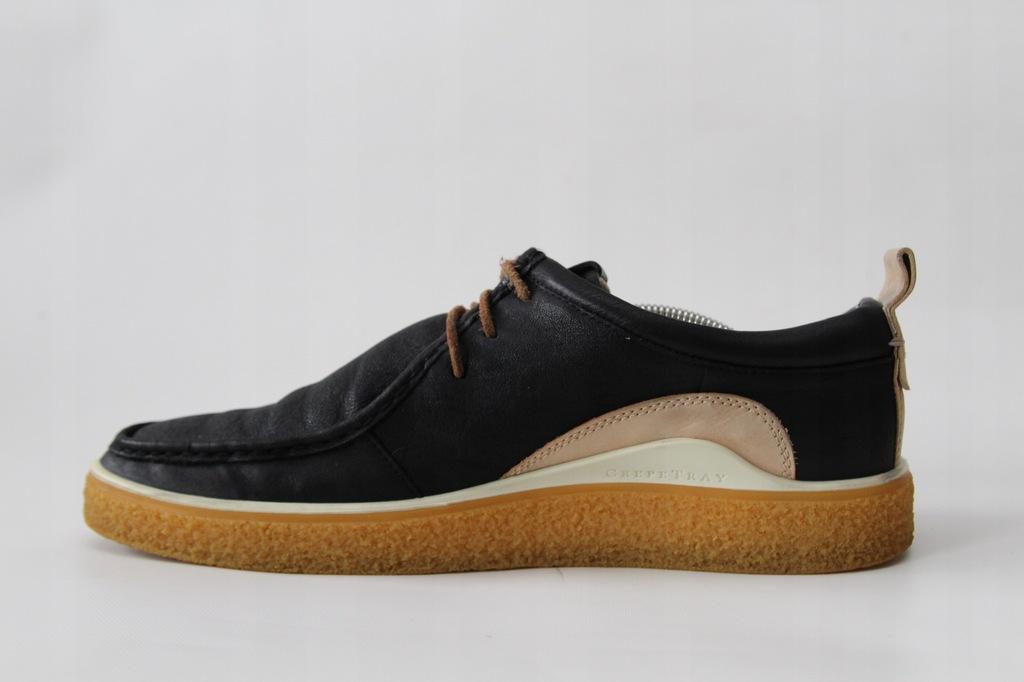 ECCO CREPETRAY - buty skórzane męskie 46 (29,5 cm)
