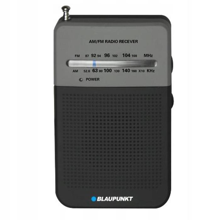 Kieszonkowe radio AM/FM PR3BK Blaupunkt