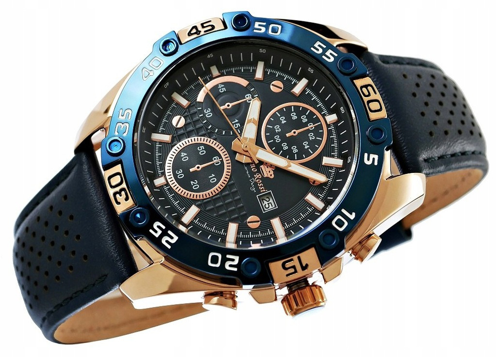 Zegarek Męski GINO ROSSI 8754A3-6F3