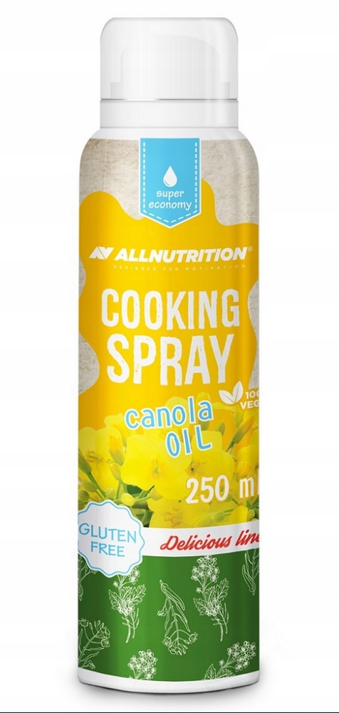 ALLNUTRITION COOKING SPRAY CANONA OIL 250ML