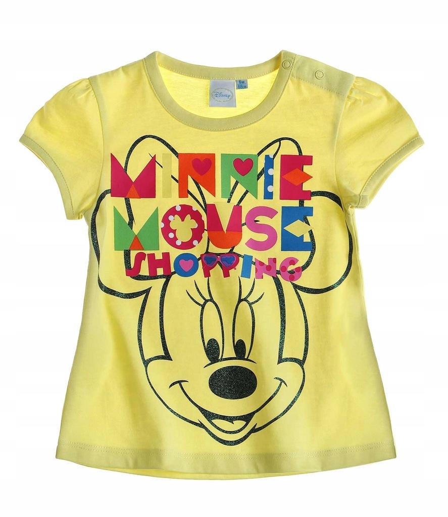 Disney koszulka 62 t-shirt Myszka Minnie