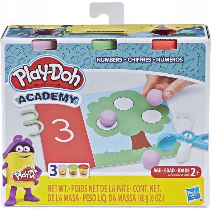 Play Doh Ciastolina Academy Cyferki E3732 8513185969 Oficjalne Archiwum Allegro