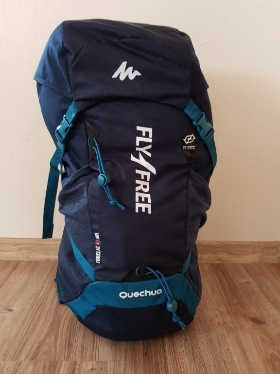Plecak FORCLAZ40 z logo FLY4FREE , unikat !!