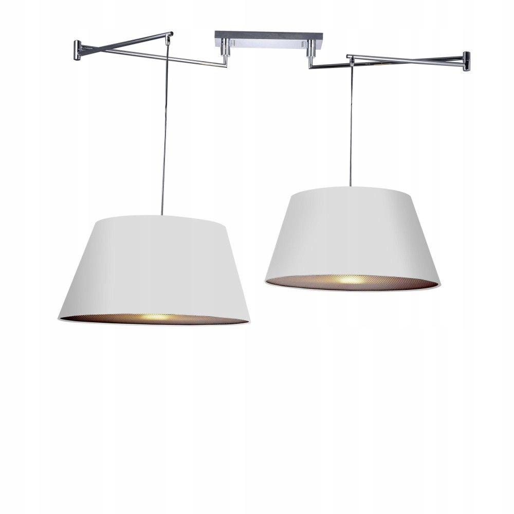 Lampa Sufitowa Regulowana Biała NATALIA Azzardo