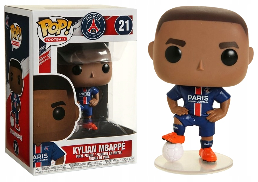 Funko POP Football: PSG - KYLIAN MBAPPE Third Kit