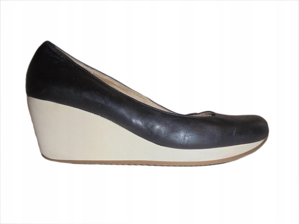 Skórzane buty firmy Ryłko. Rozmiar 38.