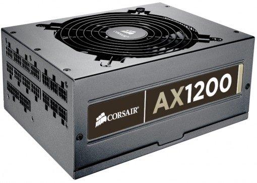 Corsair AX1200 - 22 kable - 16x PCI-E