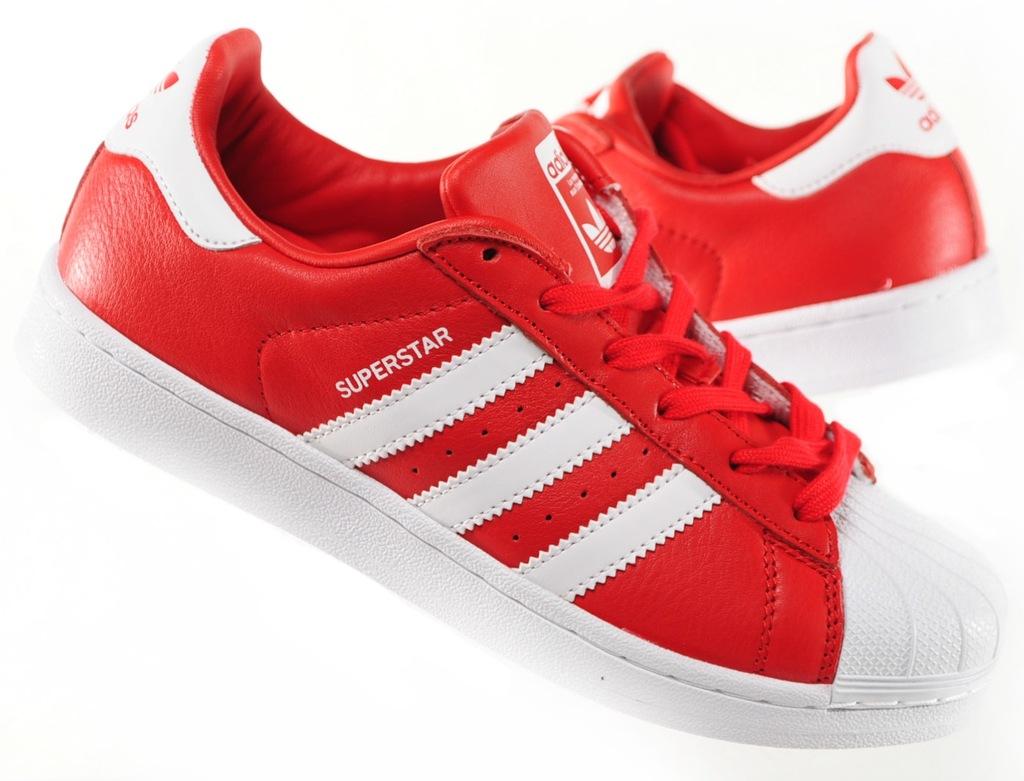 Adidas Superstar Buty Damskie Czerwone 38 23