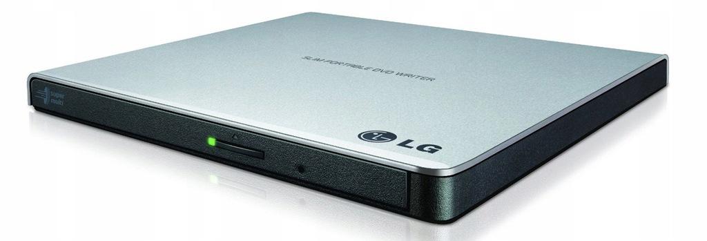 Nagrywarka zewnętrzna DVD LG GP57ES40 slim USB