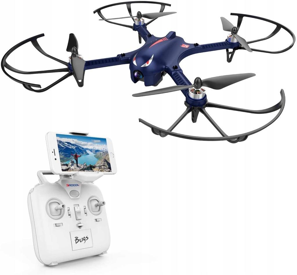 Dron Drocon Bugs 3 MJX R/C bezszczotkowy silnik