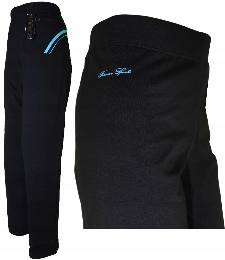 Dresowe spodnie Damskie FOREVER proste rozmiar 3XL