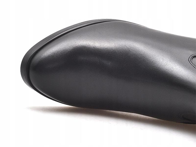 Kozaki 3fzw7s_tc3f czarne lico (Ryłko)