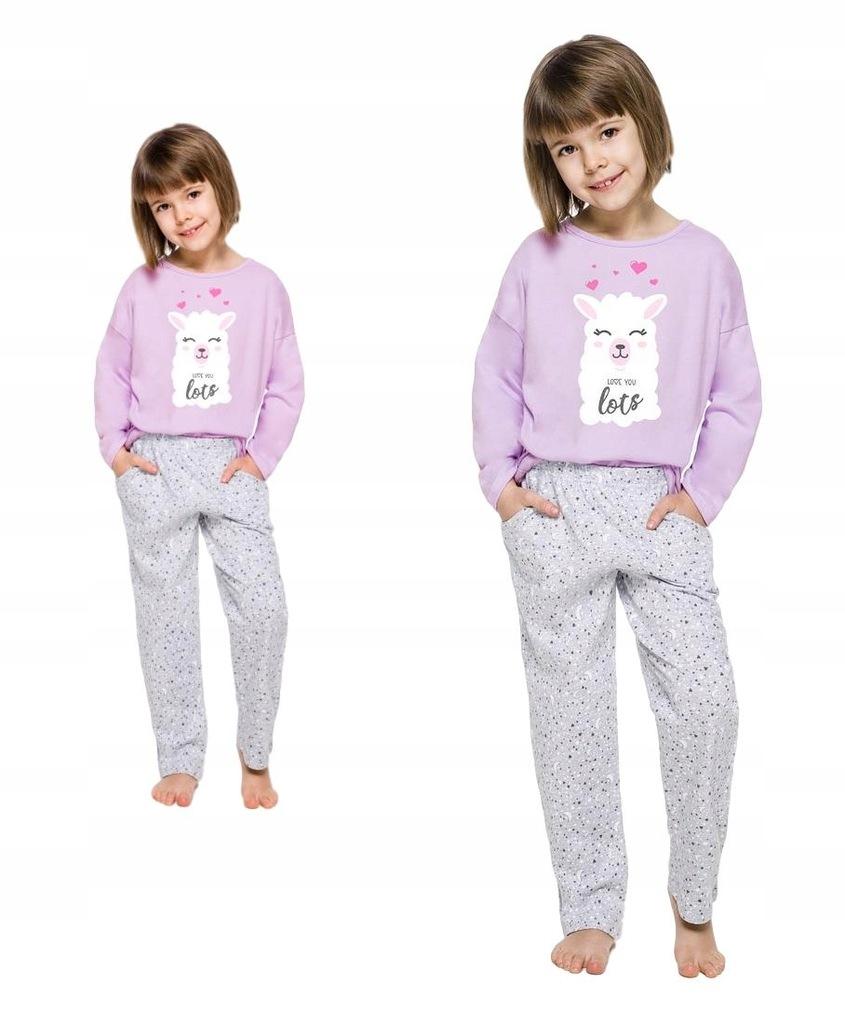 Piżama Taro Dziewczęca Sofia dł/r LAMA # 9-10 lat