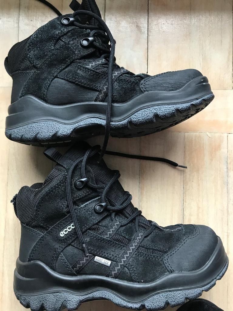 ECCO buty zimowe r.36 śniegowce za kostkę uniseks