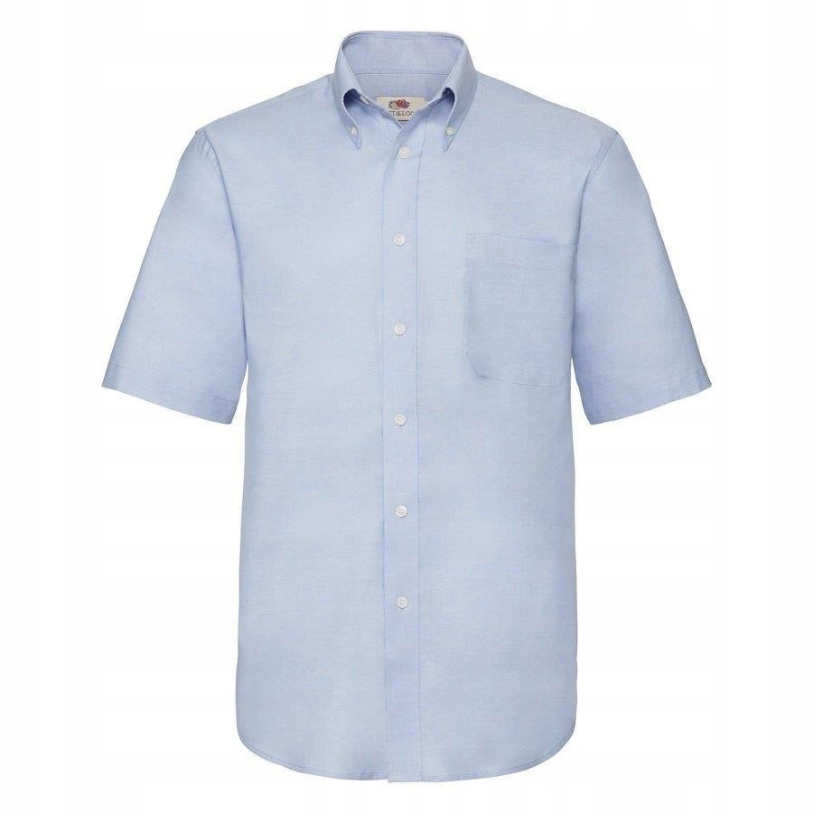 MĘSKA koszulka SHORT OXFORD FRUIT błękit L