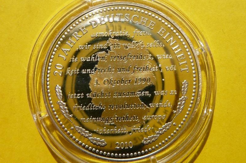ZJEDNOCZENIE NIEMIEC / 20 ROCZNICA 2010 - SREBRO