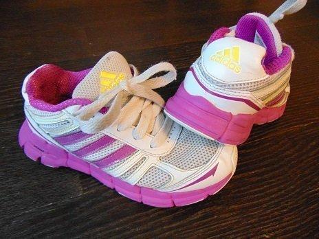 Buciki dla dziewczynki Adidas rozmiar 30