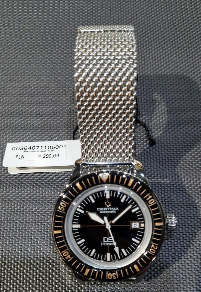 Zegarek Certina DS PH200M C036.407.11.050.01