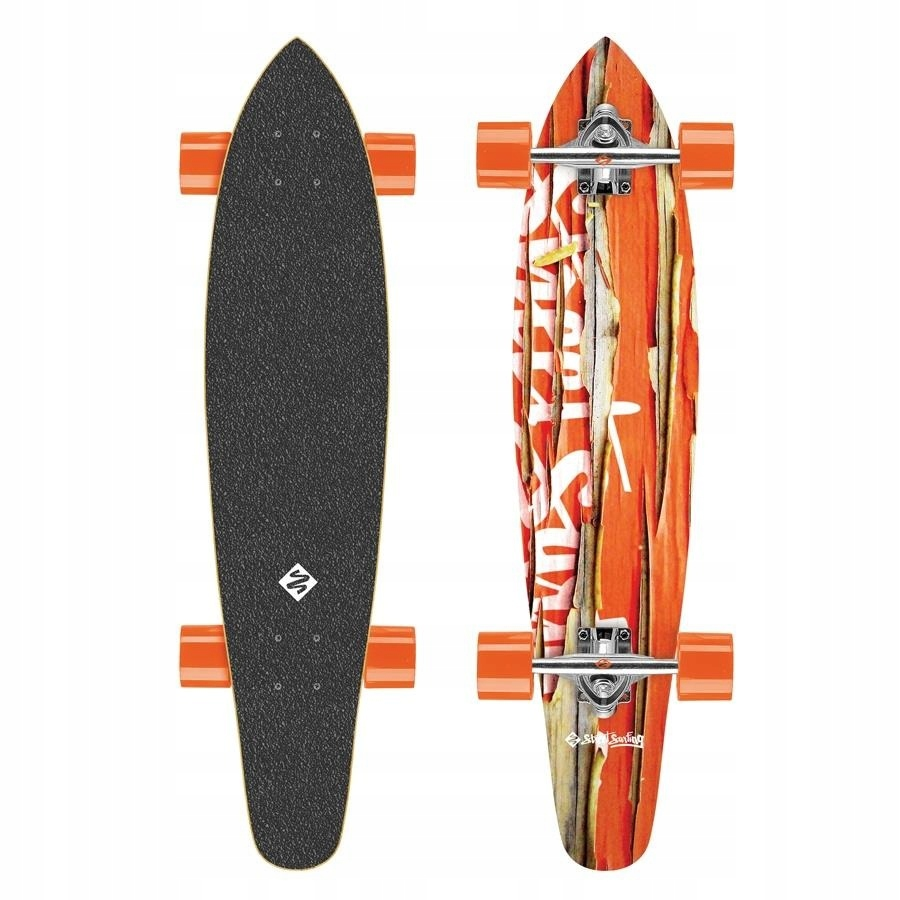 DESKOROLKA LONGBOARD KICKTAIL STREET SURFING 36''