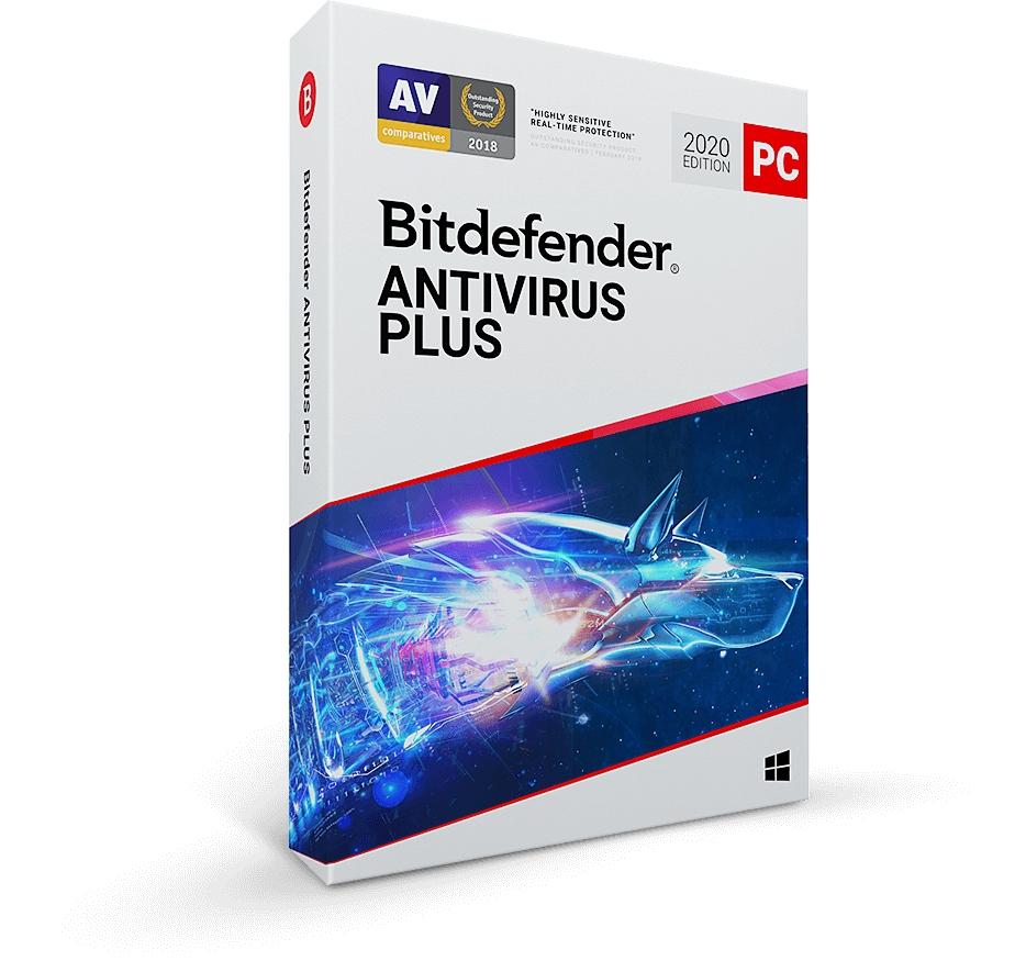 Bitdefender Antivirus Plus 2020 1PC/2Y ESD kont