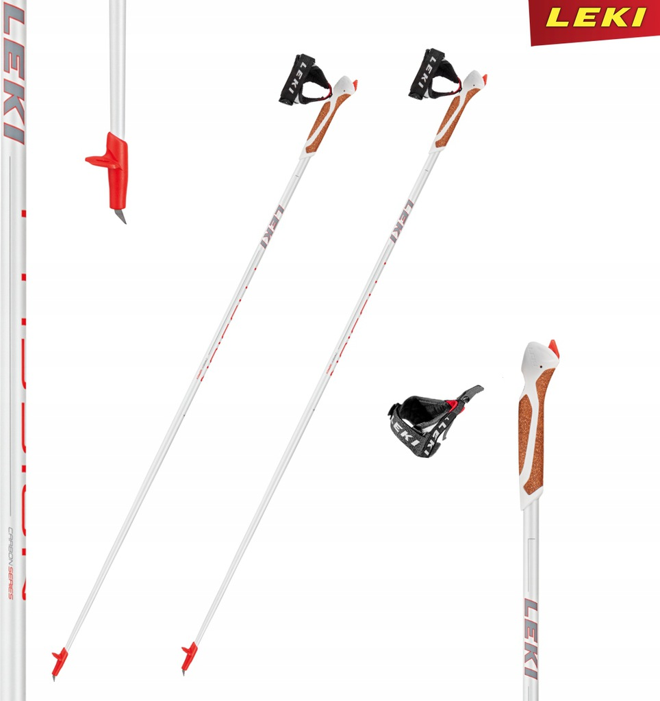 Kije Leki nordic walking Passion 60% Carbonu 115 c
