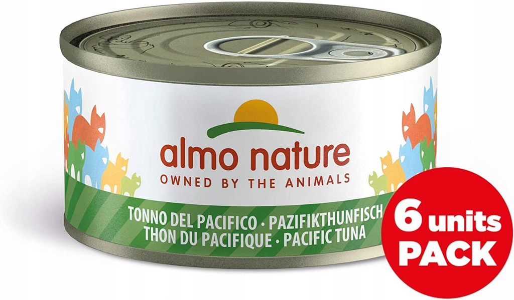 J3623 Almo Nature mokra karma tuńczyk 6x70g